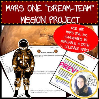 Misson To Mars Activity