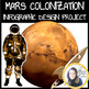 Mission To Mars Activity - 2 Part Astronomy Lesson Bundle