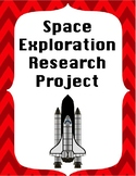 Space Exploration Research Project - No Prep!