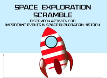 Space Exploration Scramble
