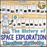 Space Exploration Timeline Webquest : Print or Digital Google Drive versions
