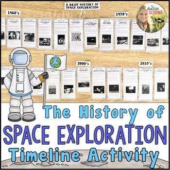Space Exploration Timeline Teaching Resources | Teachers Pay Teachers