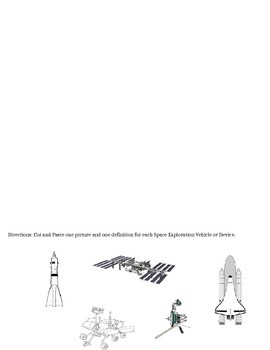Space Exploration Vehicles and Devices