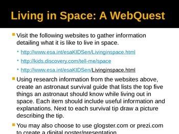 Space Exploration WebQuest