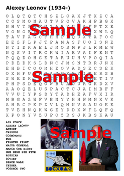 Space Exploration Word Search Pack