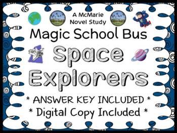 Space Explorers (Magic School Bus #4) Novel Study / Comprehension  (24 pages)