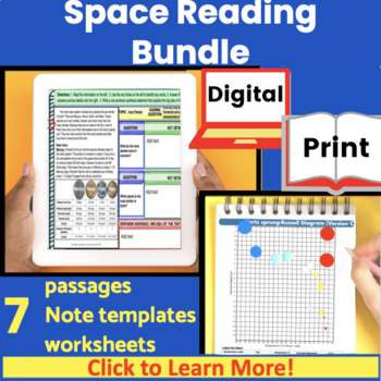 Space Expository Reading Bundle