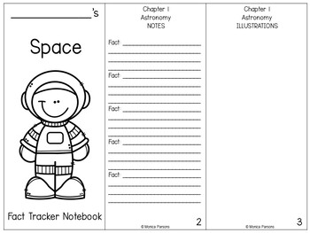 Space Research Guide {Fact Tracker}