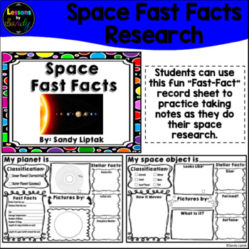 Space Fast Facts