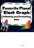Space - Favorite Planet survey and block graph