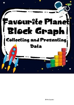 Space - Favourite Planet Survey and Block Graph (UK version)