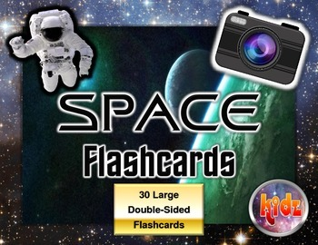 Space Flashcard Set (60 pages)
