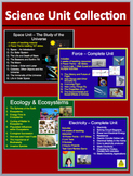 Space, Flight, Ecology and Electricity Unit Collection - Everything you need
