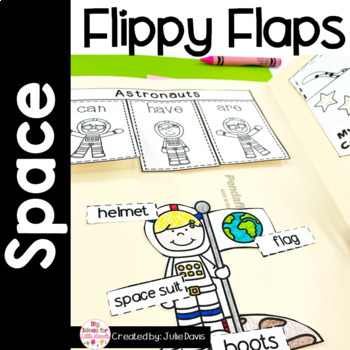 Space Flippy Flaps Interactive Notebook Lapbook