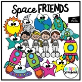Space Friends (Clip Art for Personal & Commercial Use)