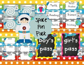 Space Fun Pack