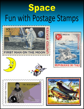 Space:  Fun with Postage Stamps