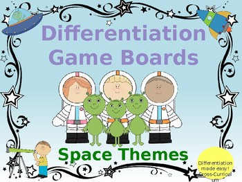 Space Game Boards
