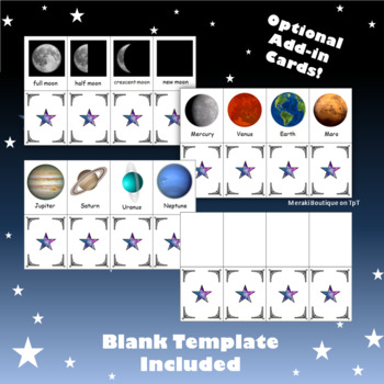 Space Go-Fish/Memory Cards (First Grade Astronomy)