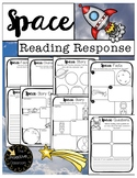 Space Activities: Character Traits Graphic Organizers & Story Retell