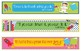 Space Growth Mindset Bookmarks, Shelf Markers or Desk Name Plates -EDITABLE