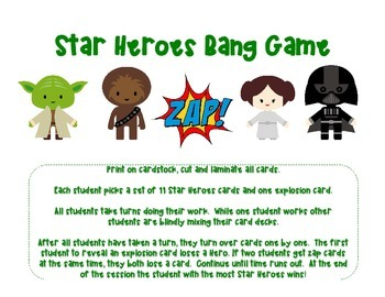 Space Heroes Bang Game