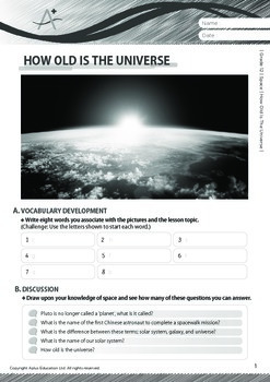 Space - How Old Is The Universe - Grade 12
