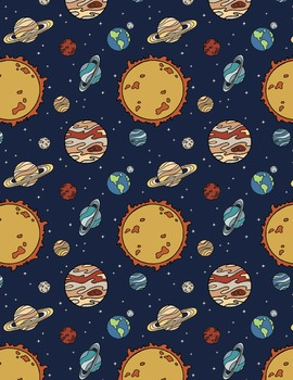 Space Illustrated Backgrounds