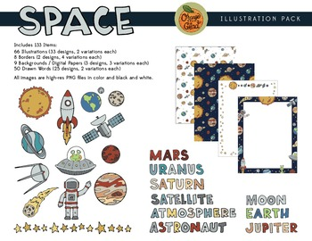 Space Illustration Pack