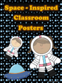 Space Inspired Classroom Posters