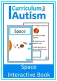 Space Solar System Book Autism Special Education