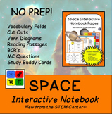 Space Interactive Notebook - Distance Learning Friendly