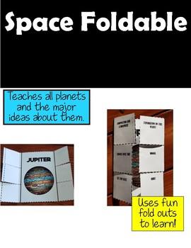 Space Interactive Notebook Activities