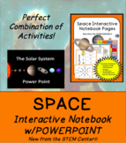 Space Interactive Notebook & Solar System Power Point