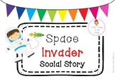 Space Invader Social Story and Visual Cards