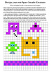 Space Invaders Art Maths Computing Design & Symmetry Lesso