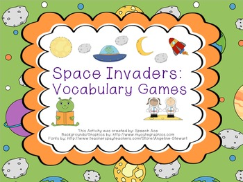 Space Invaders: Vocabulary Games