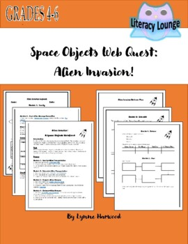 Space Invasion:  Combining Writing with Space Objects Content