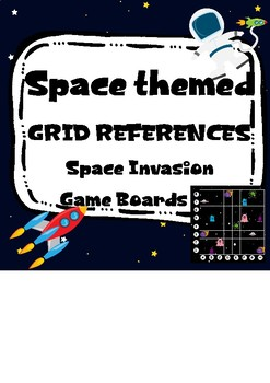 Space Invasion Game - Grid references