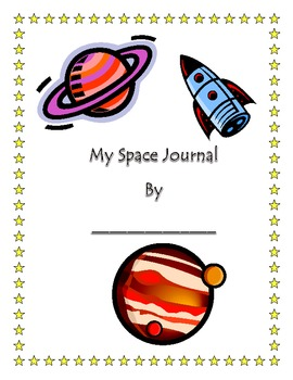 Space Journal for Magic School Bus Lost in Space!!