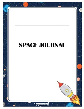 Space Journal to Accompany National Geographics Kids First