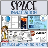 Space and Planet Activities and Worksheets