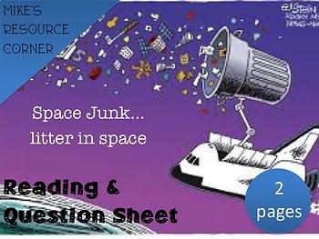 Space Junk...Litter in Space