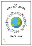 Reading Comprehension and Vocabulary Worksheet - Space Junk and Debris