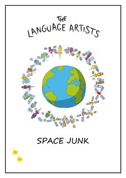 Reading Comprehension and Vocabulary Worksheet - Space Jun