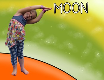 Space KIDS Yoga Cards and Printables