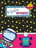 Space Kids Themed Binder Covers ( Portadas El Espacio)