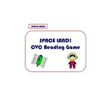 Space Land Board Game - CVC Word Practice, Center, Reading