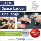 STEM Space Lander Math & Engineering Activity (Ratios & Algebra)
