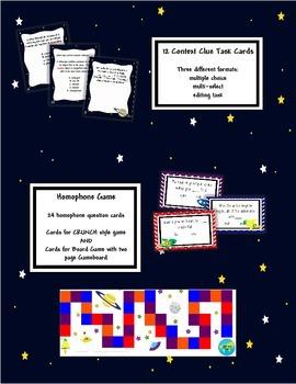 Space Language Arts Unit